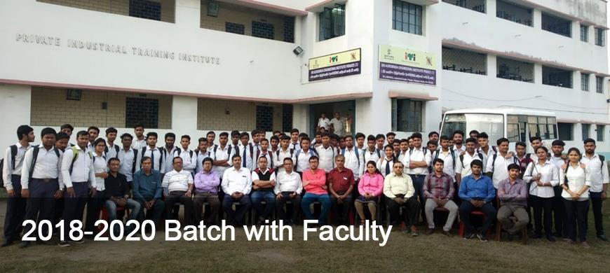 2018-2020 Batch with Faculty